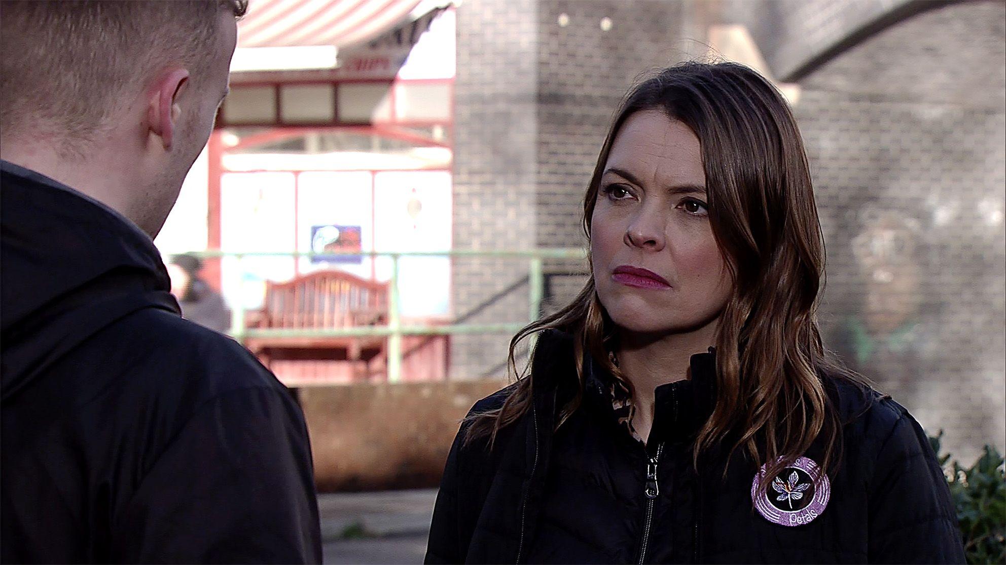 Tracy Barlow threatens Tyler Jefferies in Coronation Street
