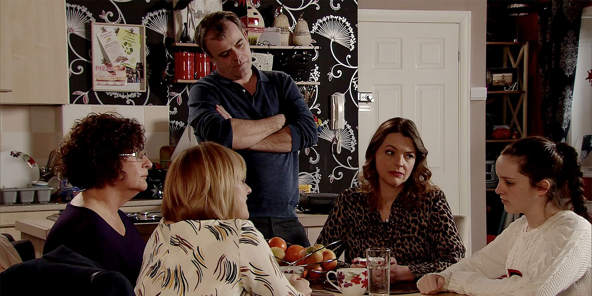 Amy Barlow is questioned by police in Coronation Street