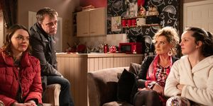 Steve McDonald and Tracy Barlow have an idea for Amy in Coronation Street