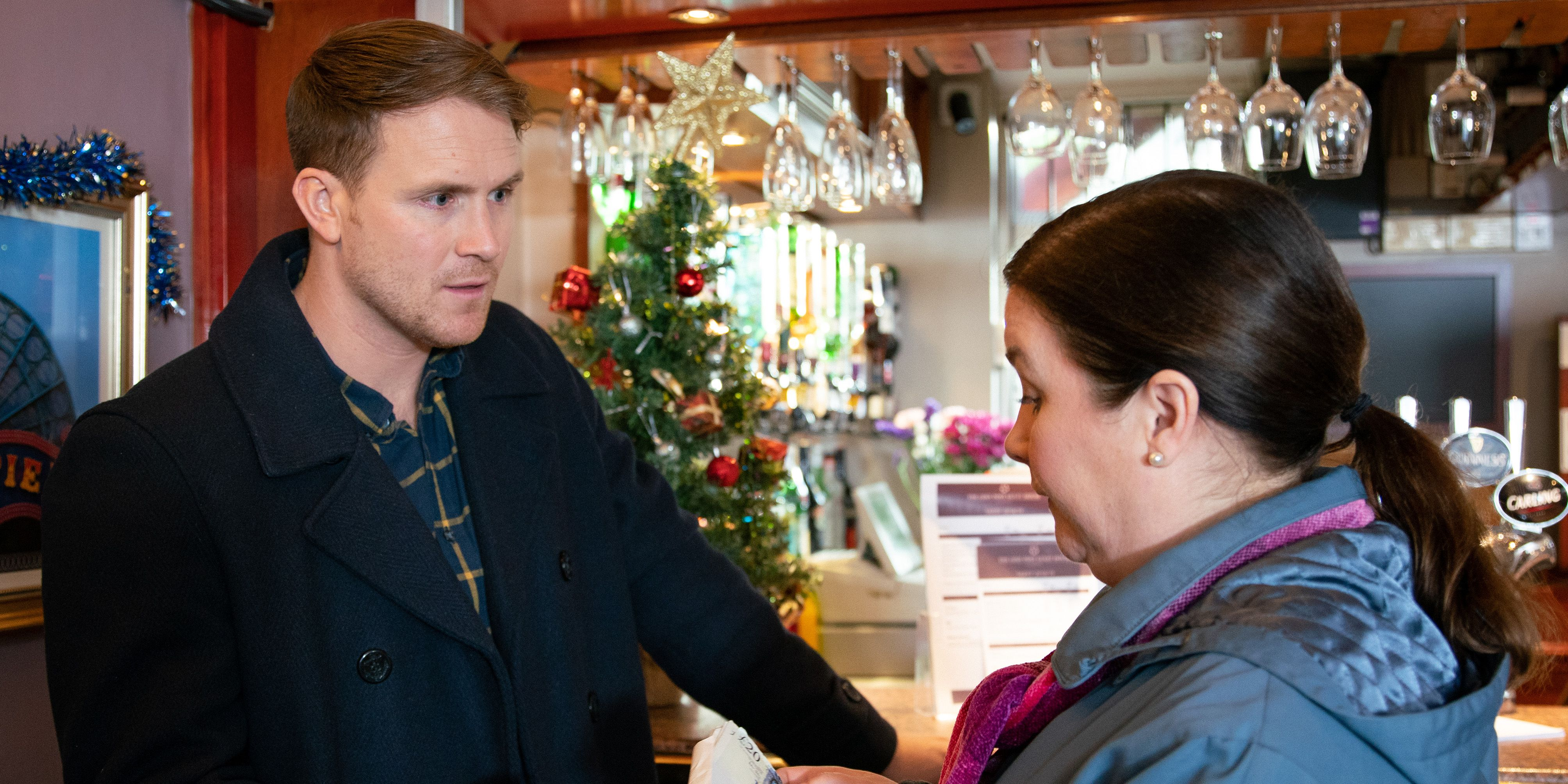 Mary Taylor comes face-to-face with Jude Appleton again in Coronation Street