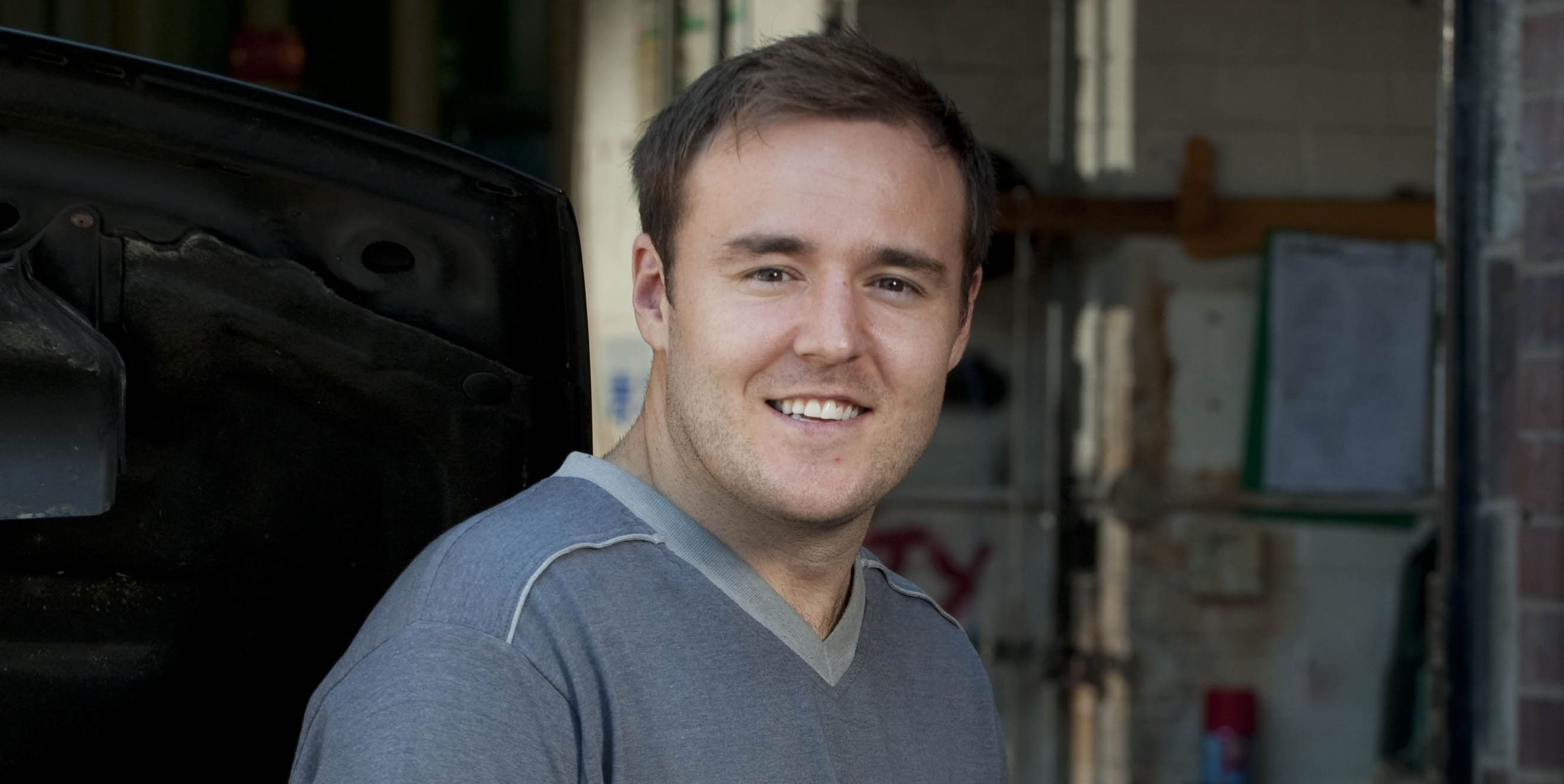 Alan Halsall as Tyrone Dobbs on Coronation Street