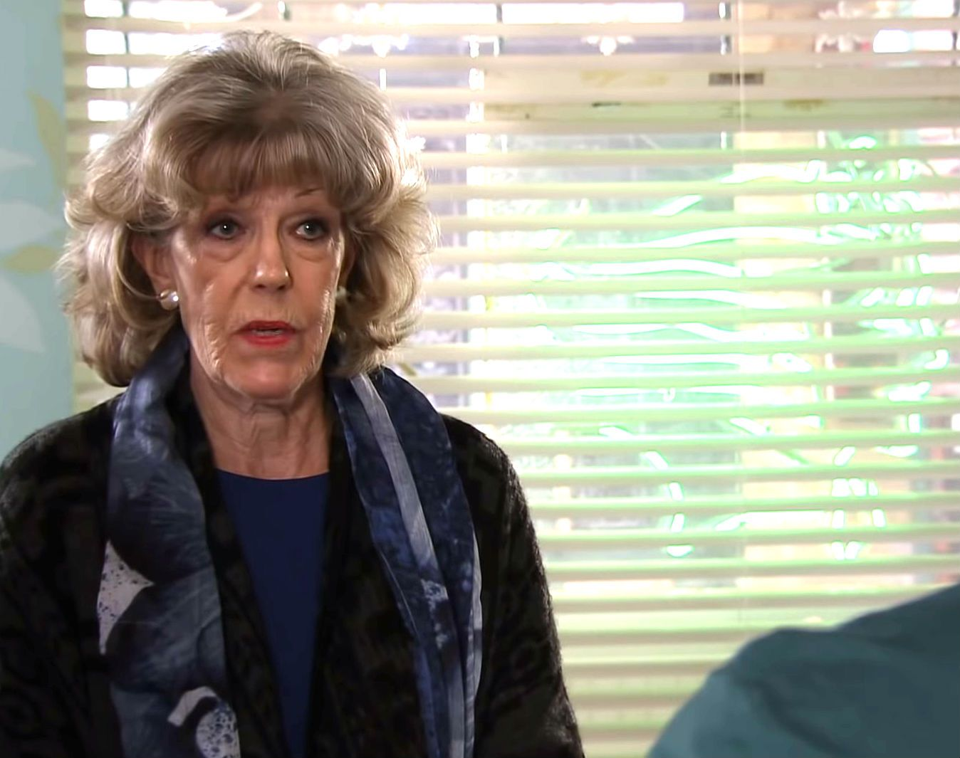 Coronation Street's Sue Nicholls reveals she was written out of scenes after an accident at home