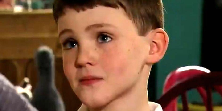 William Flanagan as Joseph Brown in Coronation Street
