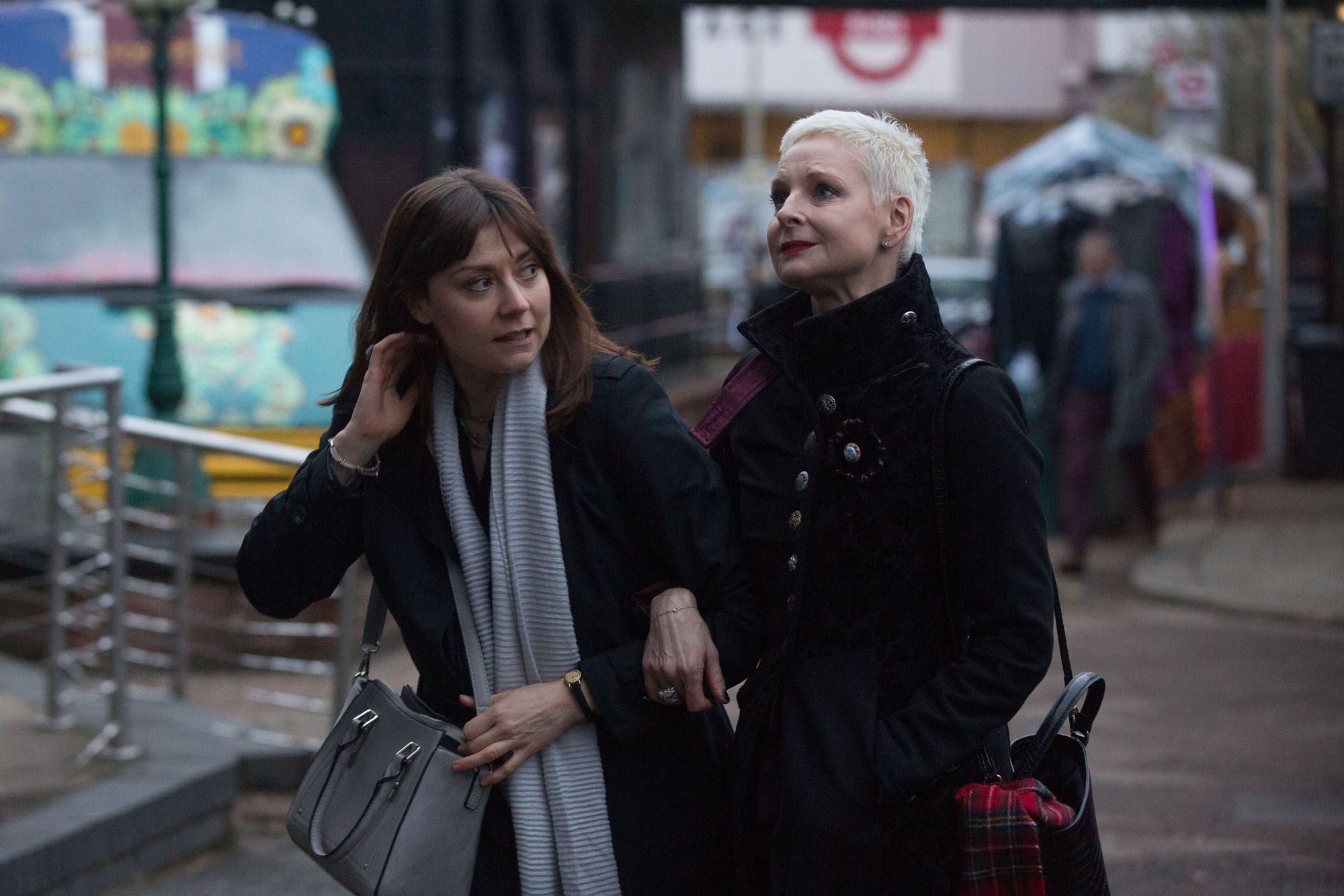 Mary Smith arrives back with Annie in EastEnders