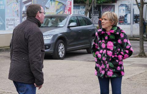 Jean Slater doesn't accept Ian Beale's apology in EastEnders