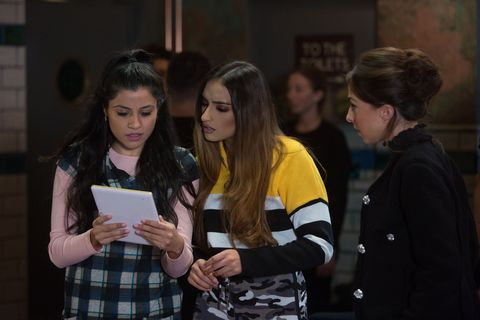 Iqra and Habiba Ahmed plan the event in EastEnders