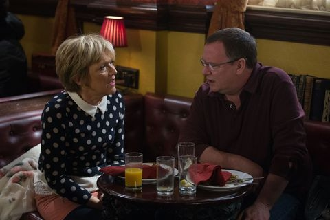 Jean Slater and Ian Beale's date goes wrong in EastEnders