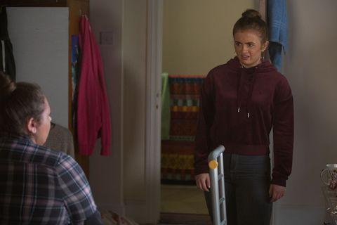 Tiffany Butcher and Bernadette Taylor clash in EastEnders