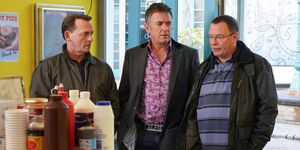 Ian Beale tells Alfie Moon he's withdrawing his investment in EastEnders
