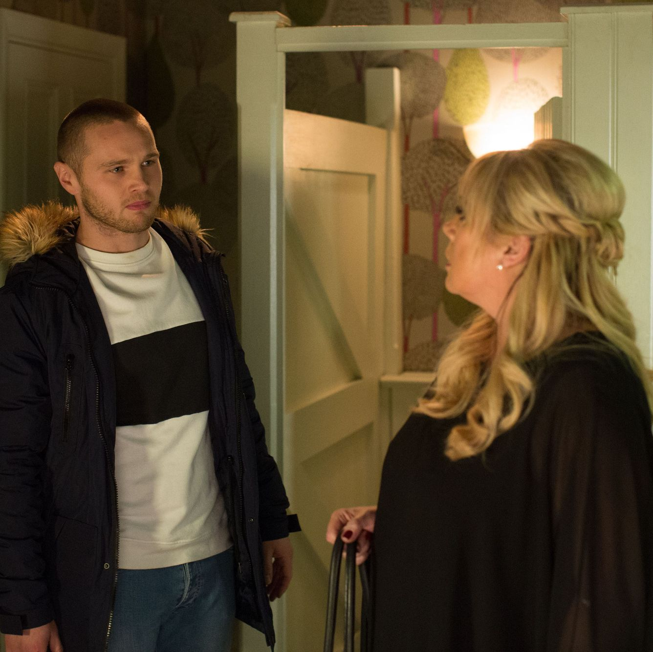 EastEnders star Lorraine Stanley predicts dramatic scenes when Sharon and Keanu's affair is revealed
