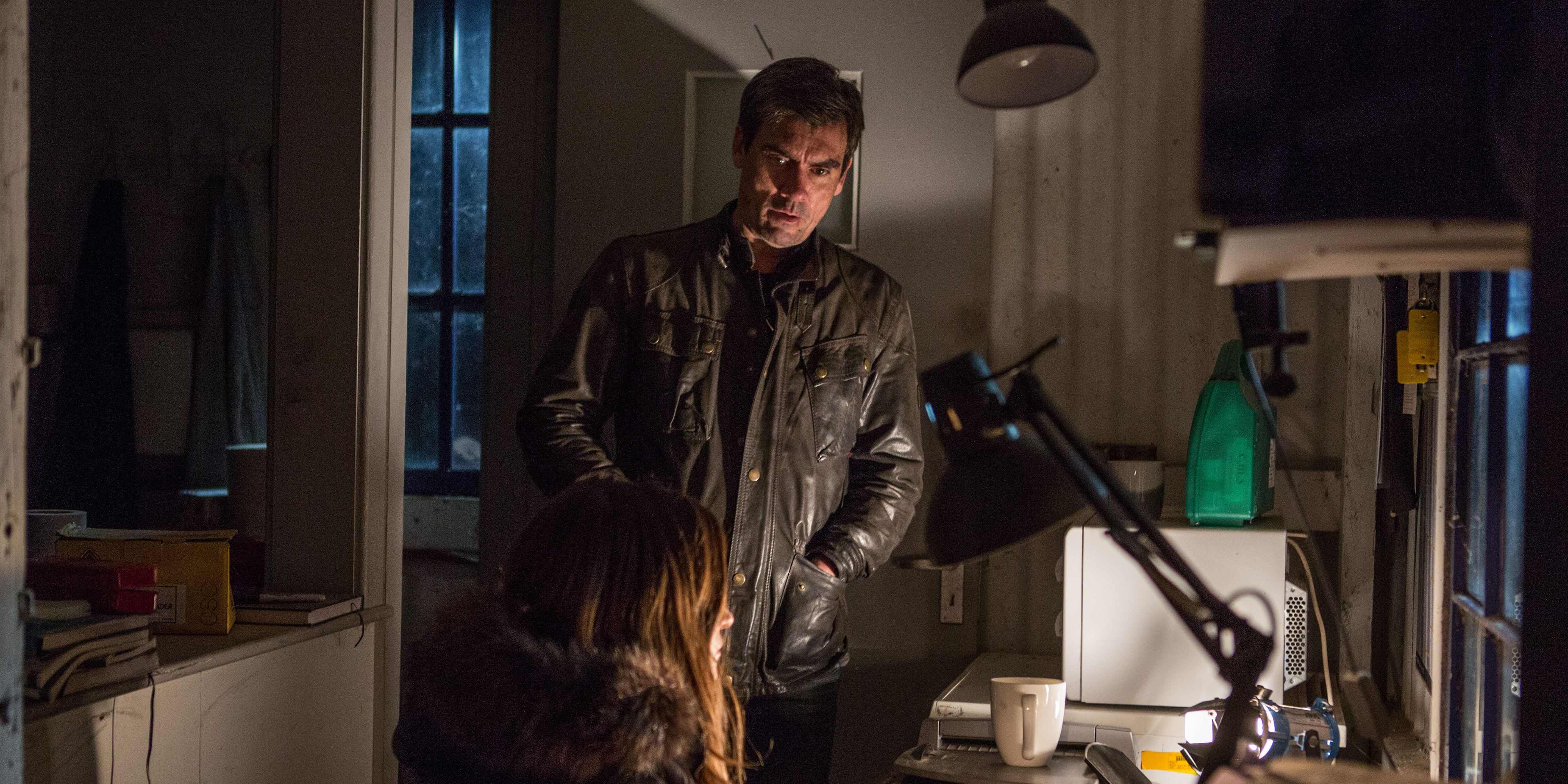 Cain Dingle confesses the truth to Debbie in Emmerdale