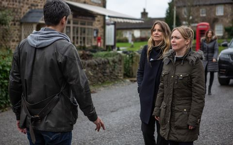 Vanessa Woodfield confronts Cain Dingle over Charity in Emmerdale
