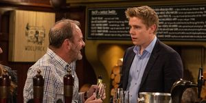 Jimmy King and Robert Sugden in Emmerdale