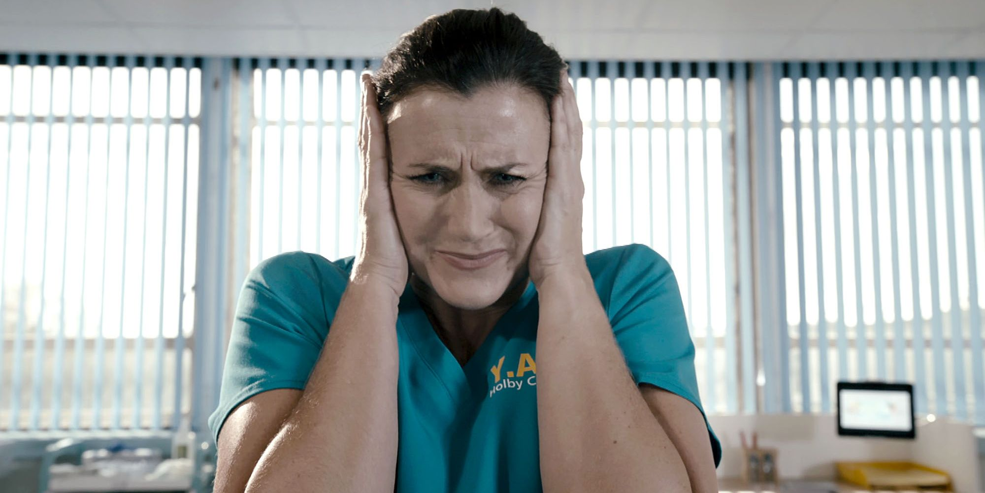 Ange Goard in Holby City