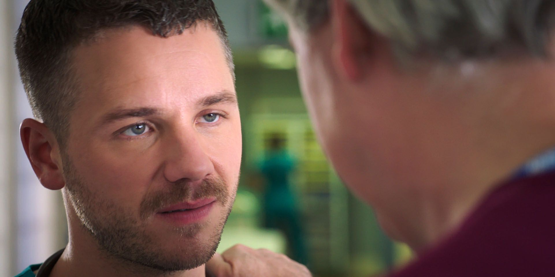 Dominic Copeland in Holby City