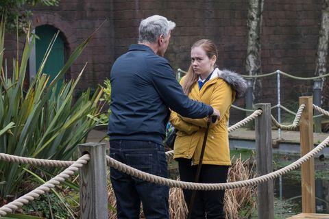 Mac Nightingale wants Juliet Quinn to like him in Hollyoaks
