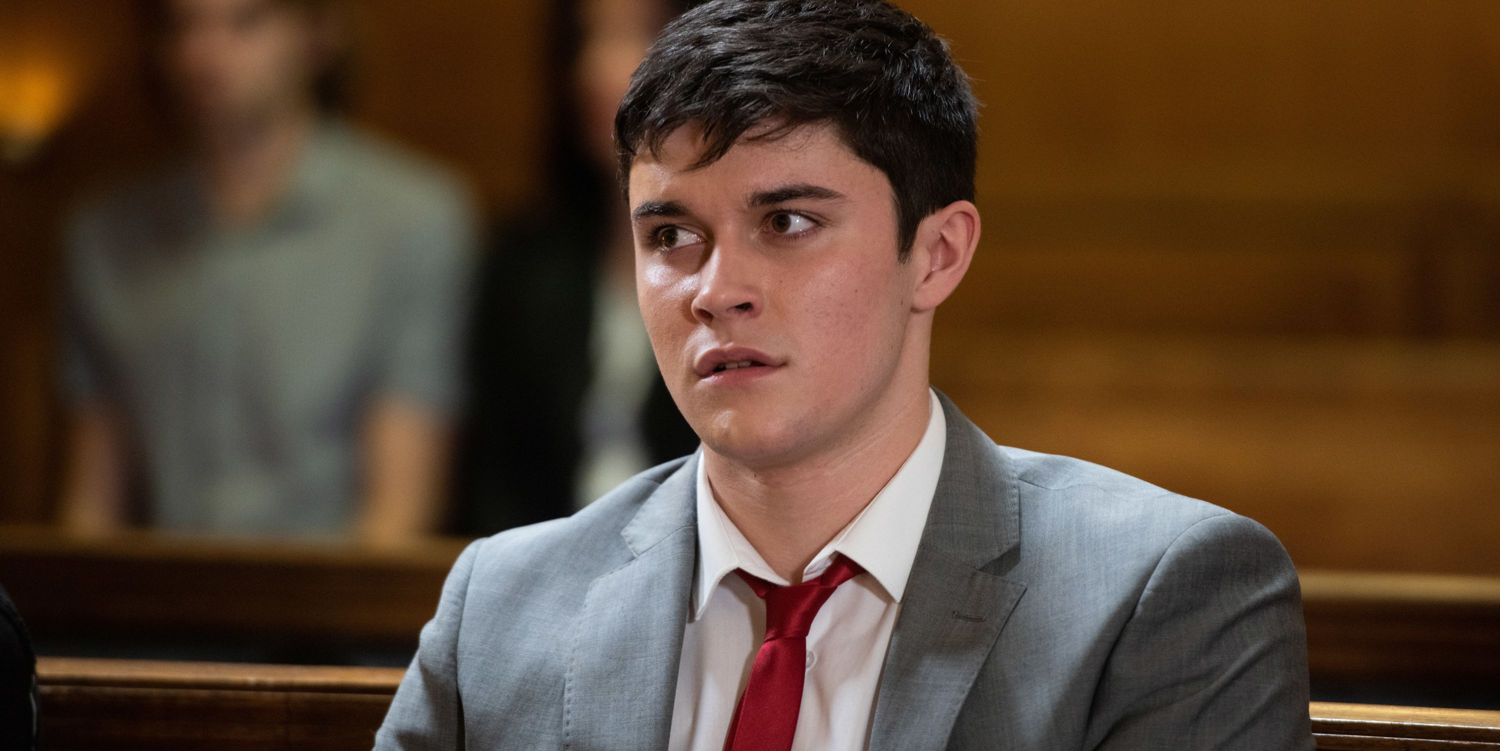 Ollie Morgan in court in Hollyoaks