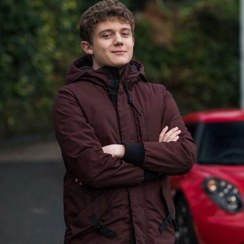 Hollyoaks star Ellis Hollins reveals all on Tom Cunningham's polyamorous relationship story