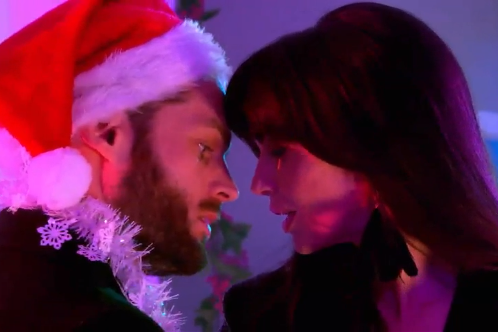 Liam Donovan and Mercedes McQueen in Hollyoaks