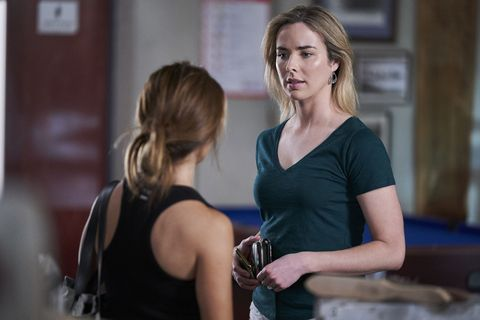 Chelsea Campbell gets suspicious in Home and Away
