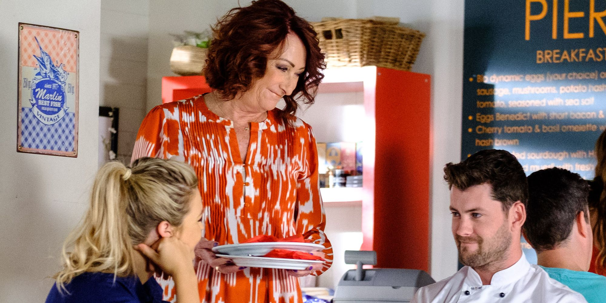 Ziggy Astoni, Irene Roberts and Brody Morgan in Home and Away