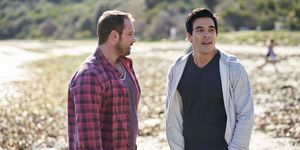 Robbo and Justin Morgan in Home and Away