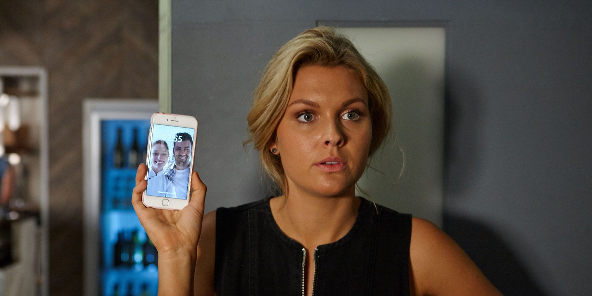 Ziggy Astoni confronts Simone Bedford in Home and Away