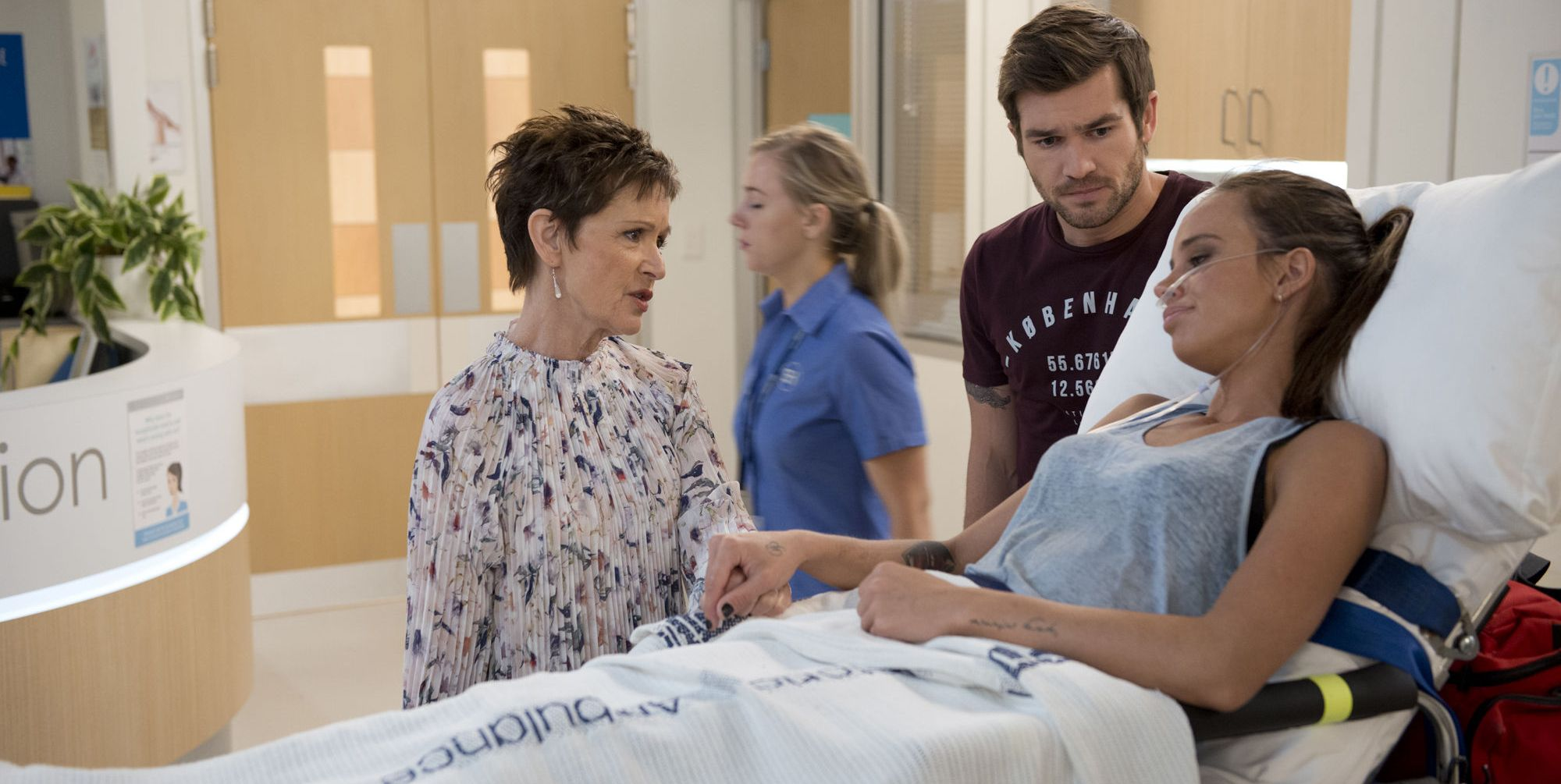 Neighbours: 15 new spoiler pictures reveal Bea Nilsson's garage fire aftermath