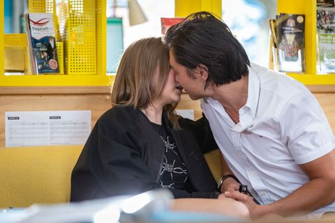 Neighbours reveals kiss shock for Leo Tanaka and Piper Willis