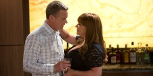 Terese Willis tempts Paul Robinson in Neighbours