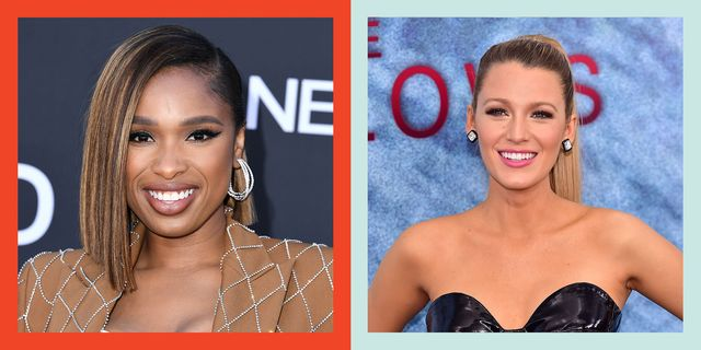sober celebrities who do not drink alcohol, including blake lively and jennifer hudson pictured here