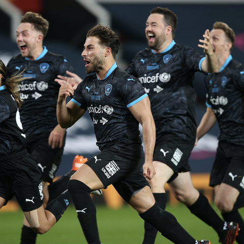 Soccer Aid 2020 Ends In Another Penalty Shoot Out