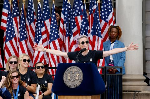 U.S. Women's National Soccer Team Victory Parade