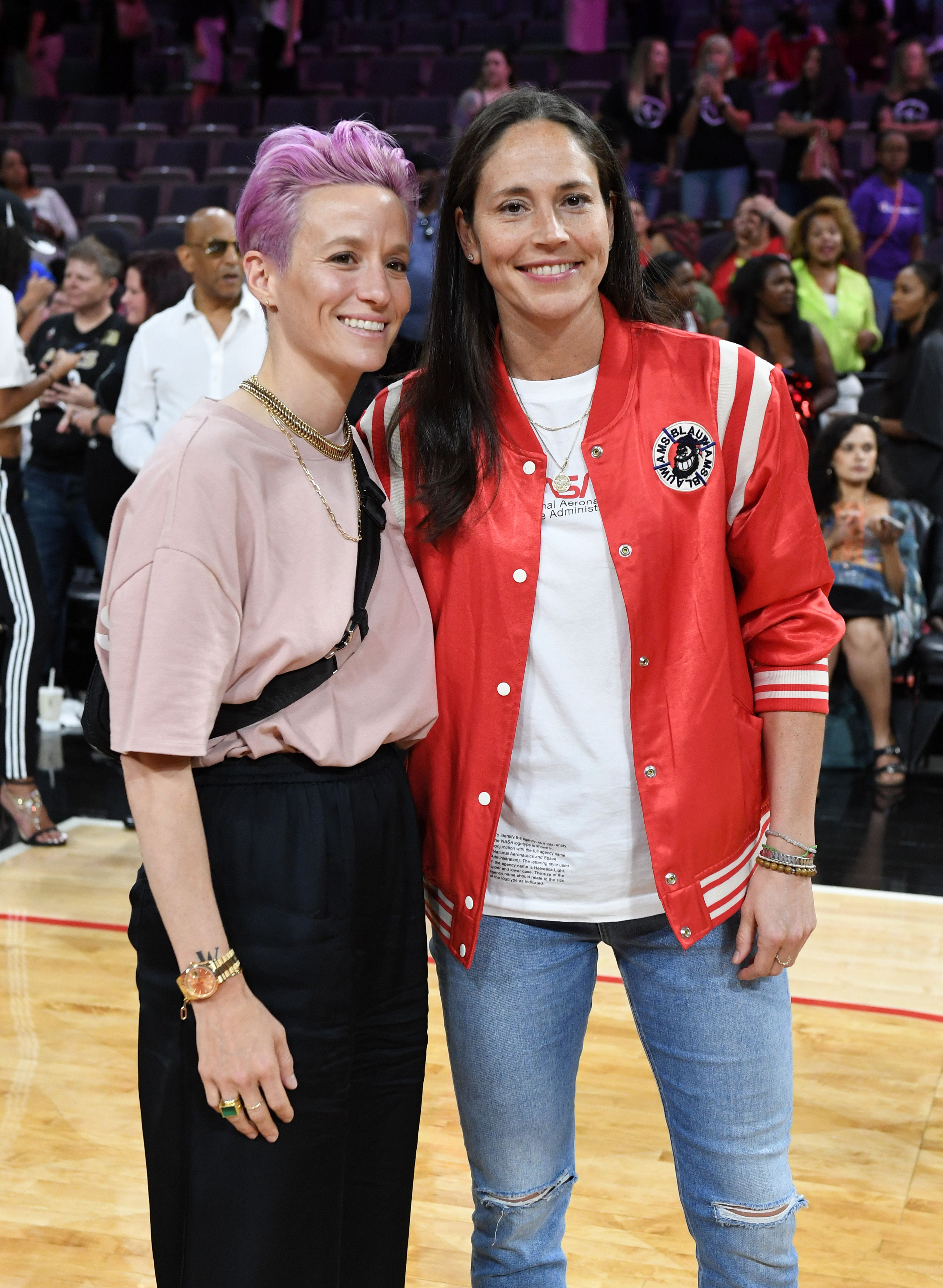 Megan Rapinoe And Sue Bird's Body Language Is Sweeter Than A World Cup Win