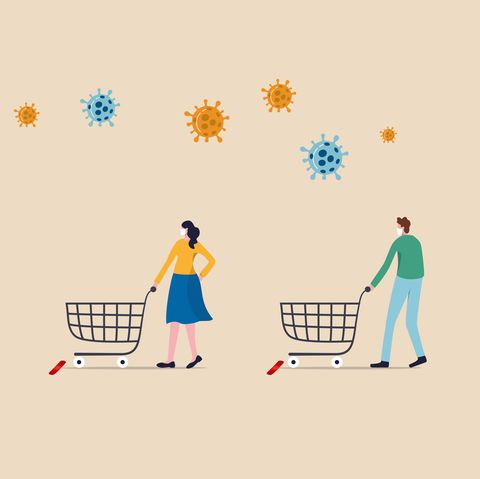coronavirus supermarket safety