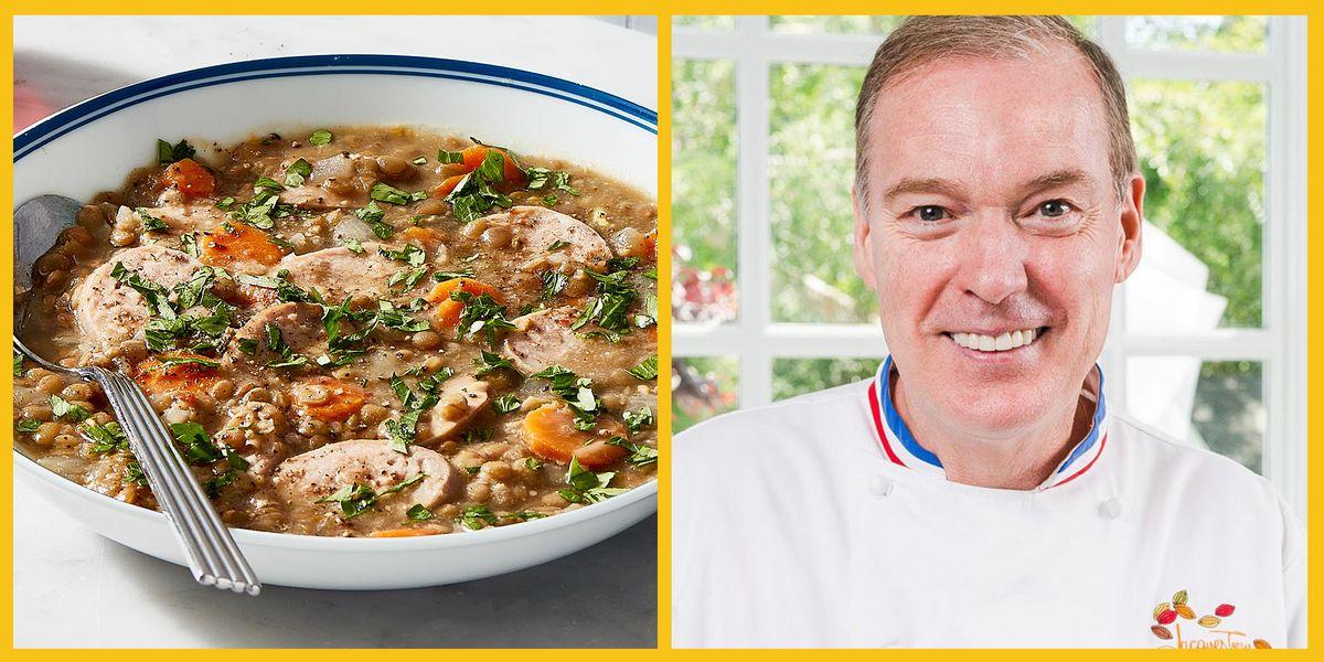 One-Pot Lentil & Sausage Soup