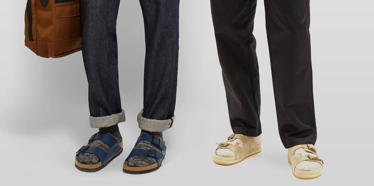 Six Sandals and the Socks You Should Wear With Each Pair
