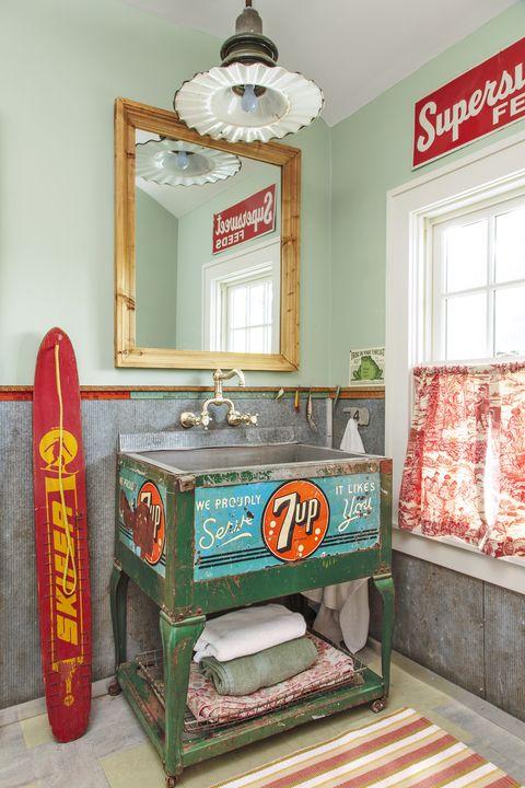 20 Half Bathroom Ideas Decor, Lake Bathroom Decor Ideas