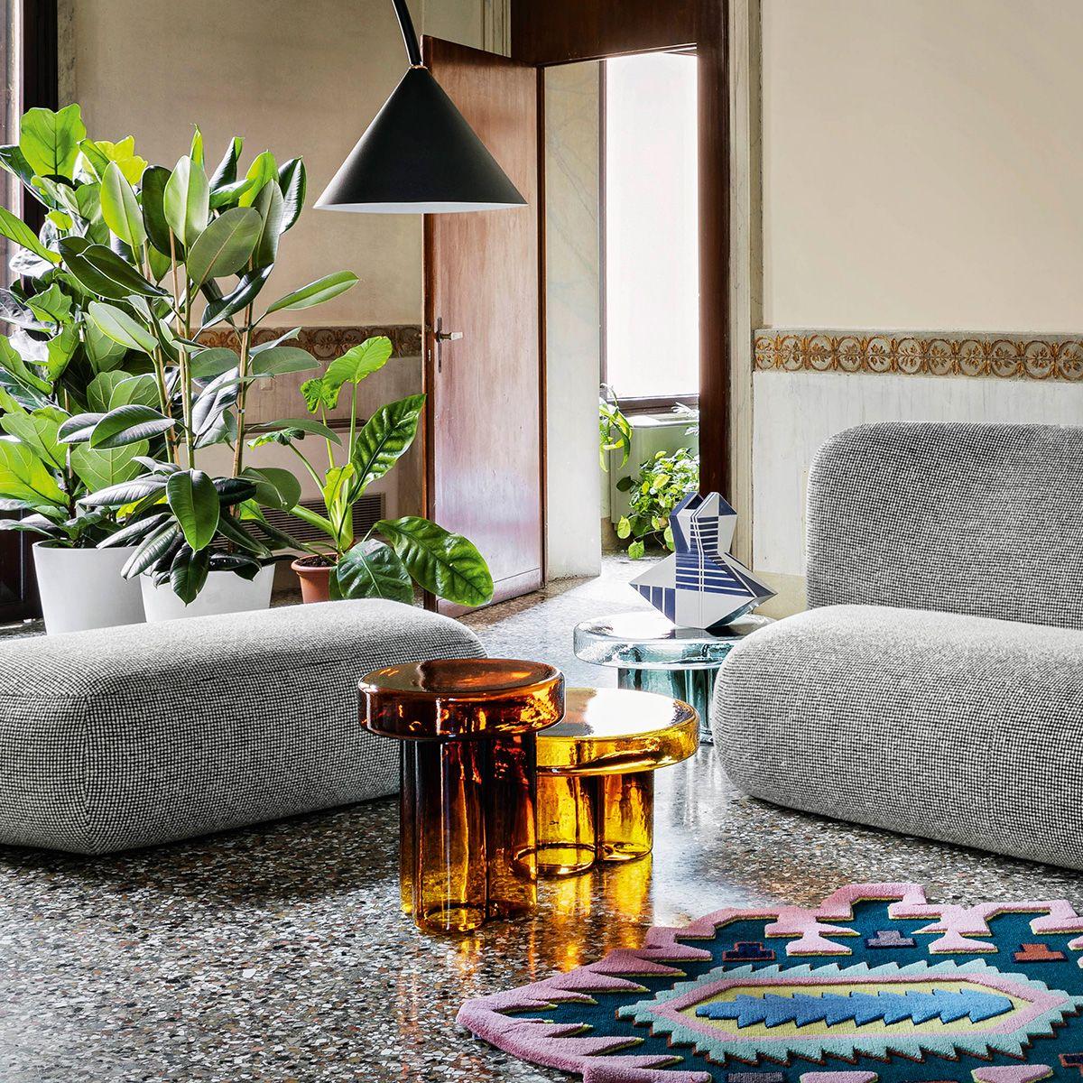 Soda, las mesas de cristal de Murano que son un soplo de aire fresco