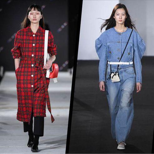 Fashion model, Clothing, Fashion, Tartan, Plaid, Jeans, Pattern, Denim, Textile, Design,