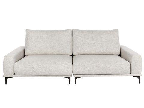 sofá en tono neutro