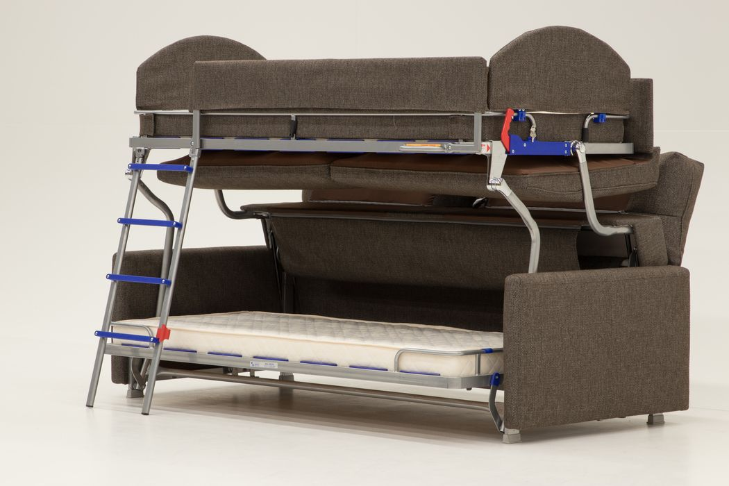 Luonto Furniture Makes A Sofa That Transforms Into A Bunk Bed