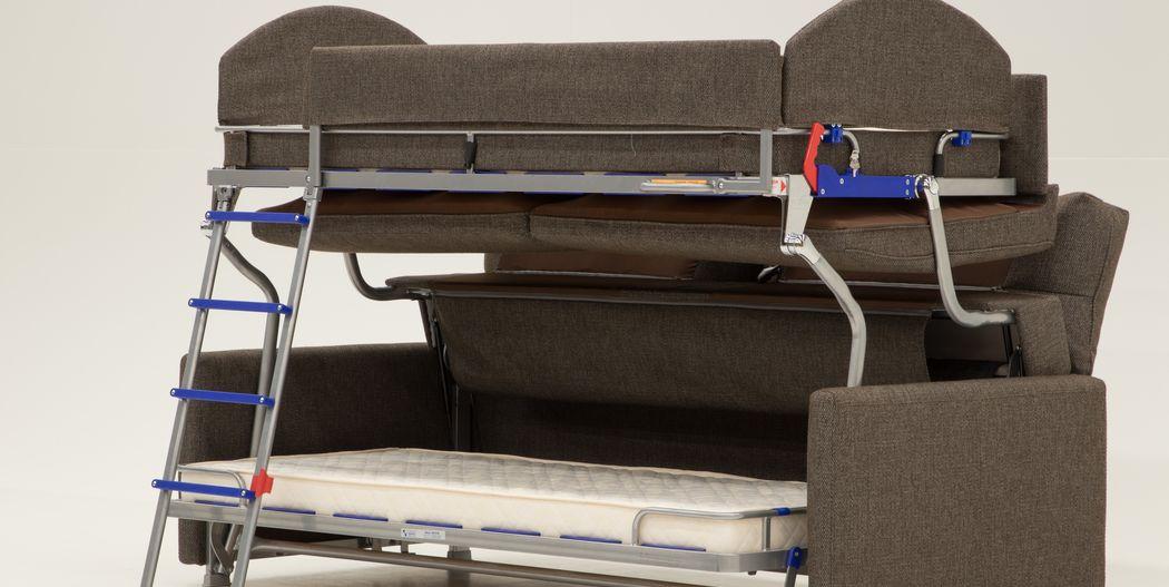 Luonto Furniture Makes A Sofa That Transforms Into A Bunk Bed