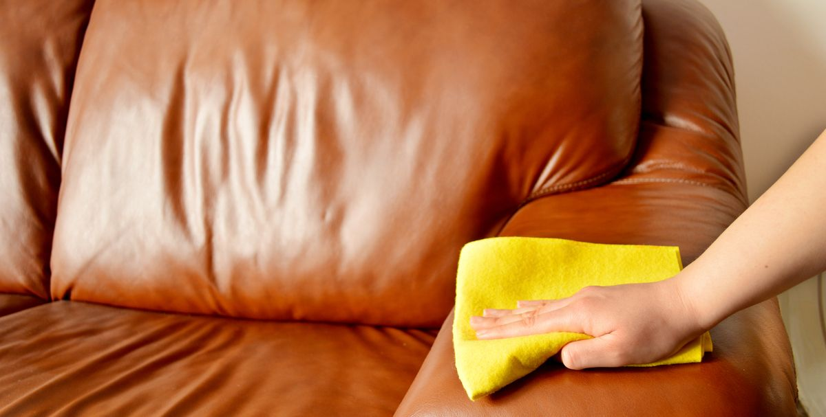 How To Clean A Leather Couch Best Way Condition And
