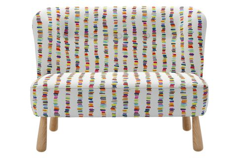 Alfie Mini Two Seat Sofa In Tutti Frutti Caterpillar