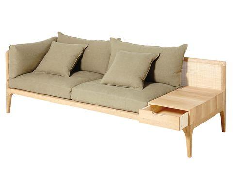 Sofa con cajonera
