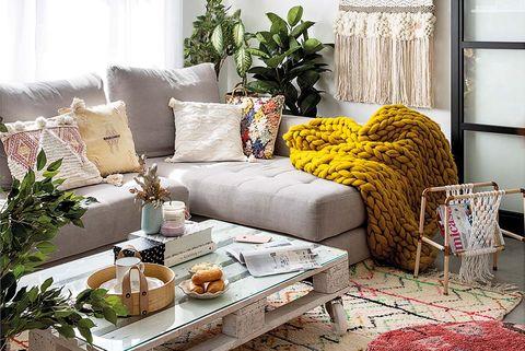 Casa familiar con detalles DIY