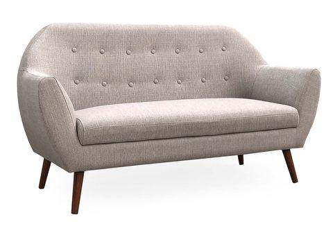 sofá en tono neutro modelo mónaco