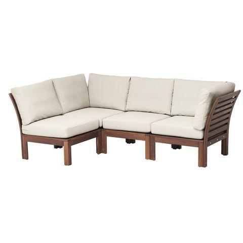 sofá exterior modelo Äpplarö, de ikea