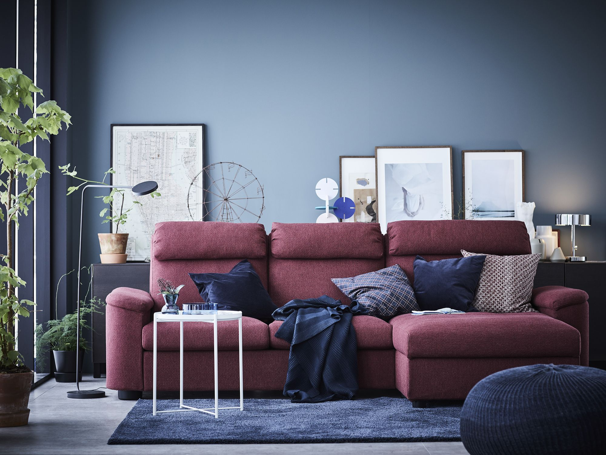 Sofá LIDHULT de IKEA